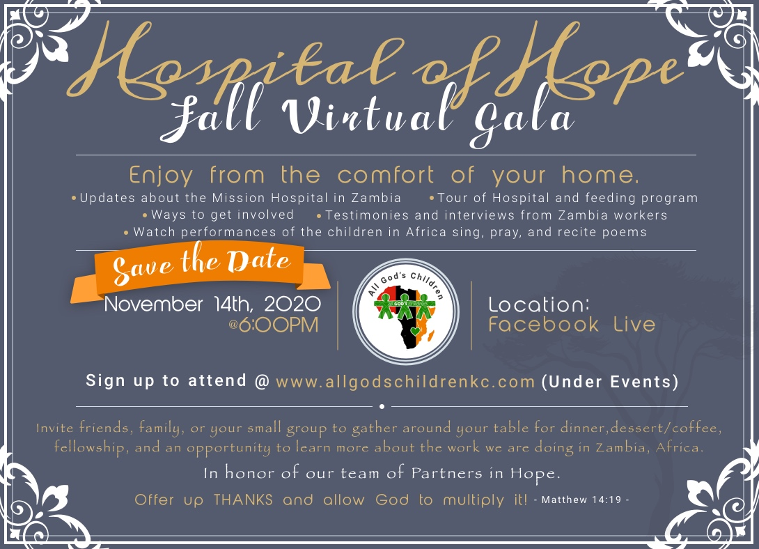 Fall Gala Save the Date